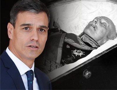 El Gobierno aprueba el decreto ley para sacar a Franco del Valle de los Caídos