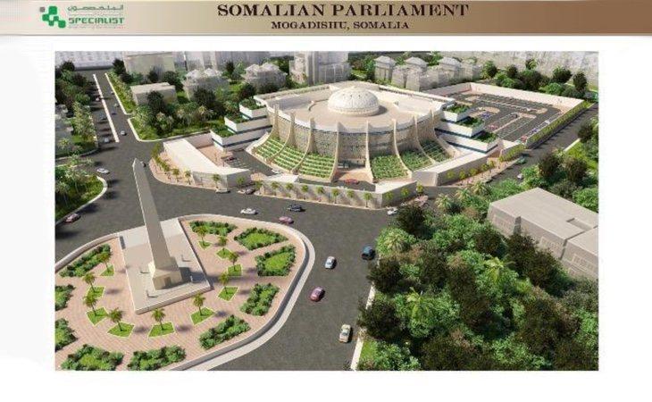 Los planes de reconstrucción se están desarrollando bajo el nombre de 'Nuevo Mogadiscio'
