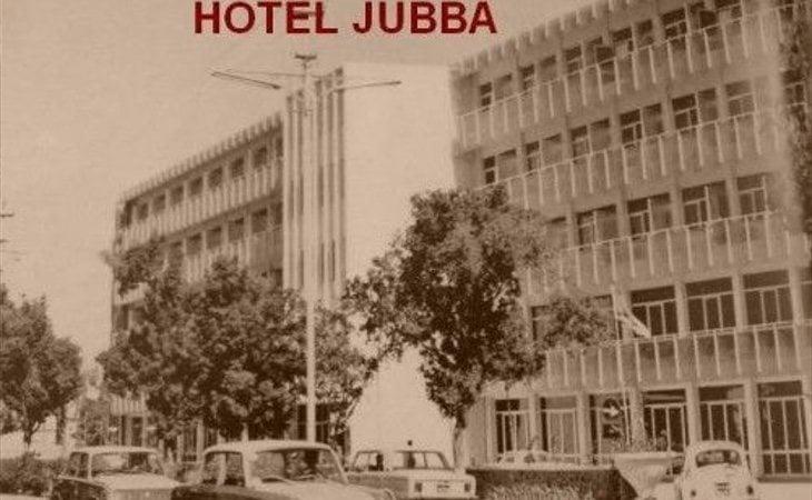 Exterior del hotel en 1970