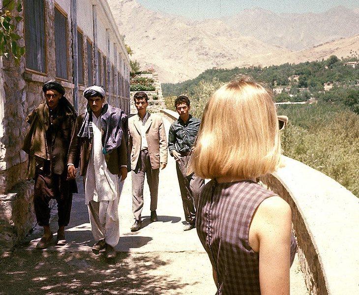 Muchos turistas acudían a Kabul como destino de moda