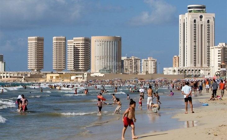 El turismo en Libia también incluía oferta de Sol y playa