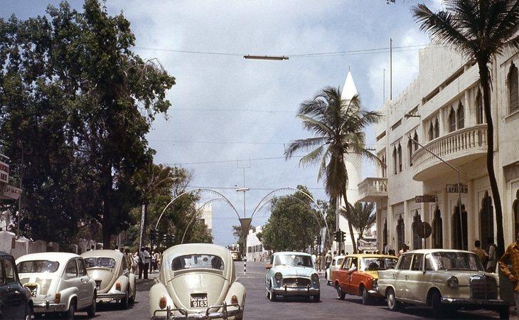 Las calles de Mogadiscio conquistaban a todos los turistas