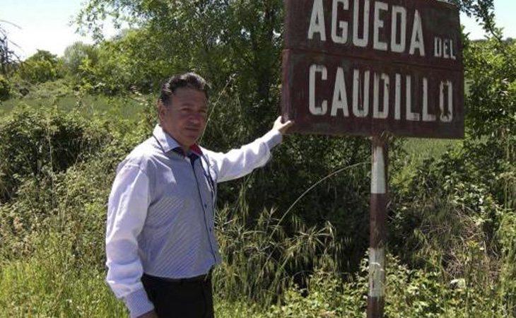 Florindo Germán, alcalde del pueblo salmantino (EFE)
