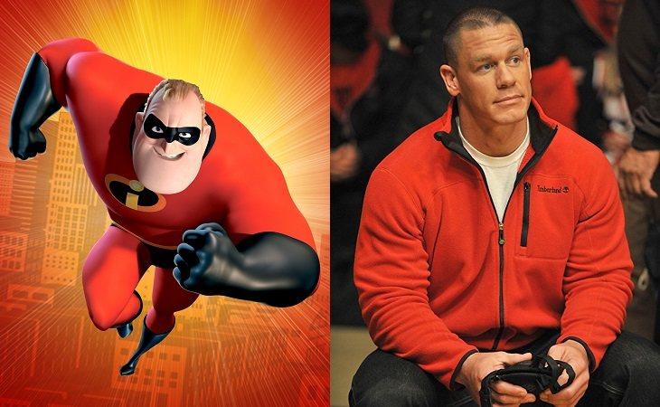 John Cena como Mr. Increíble