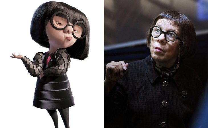 Linda HUnt como Edna Moda