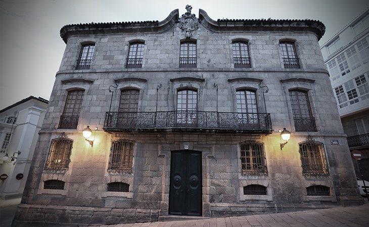 Palacio de Cornide en Galicia
