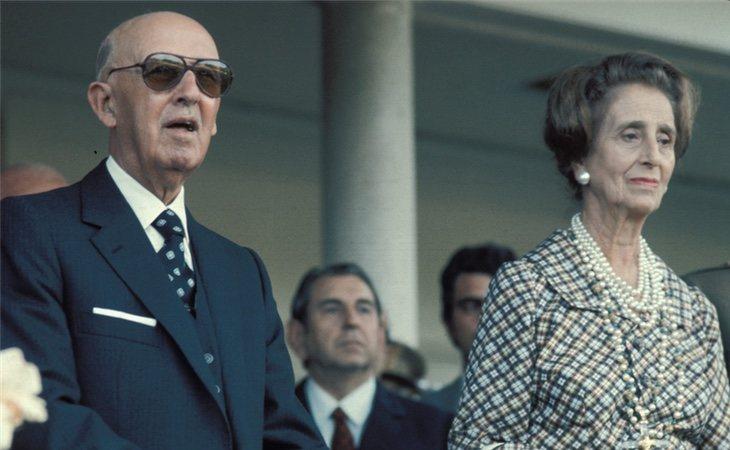 Francisco Franco y Carmen Polo