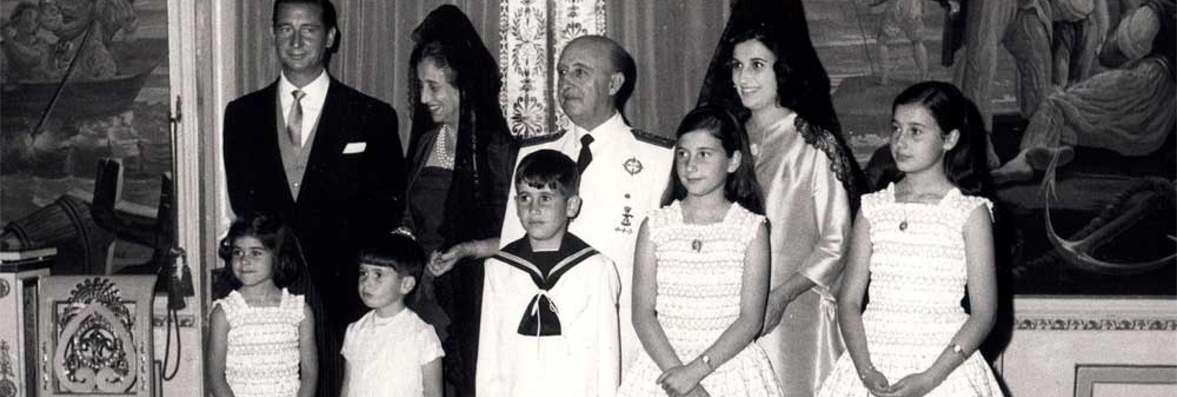 La fortuna de la familia Franco: este es el dineral de los descendientes del dictador
