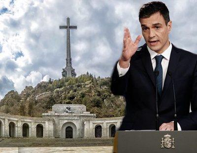 Sánchez insinúa que demolerá la cruz del Valle de los Caídos y no será un lugar de memoria