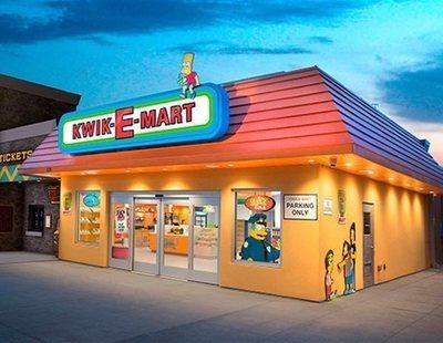 El badulaque de Apu de 'Los Simpson' abre sus puertas en el mundo real