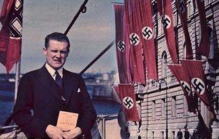 Sol y esvásticas: las extrañas fotografías de color capturadas en plena Alemania nazi