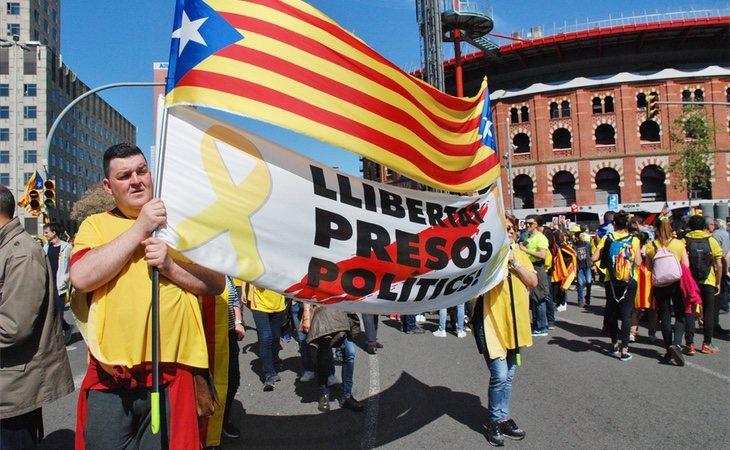 El independentismo considera que la cúpula del procés se encuentra encarcelada por motivos políticos