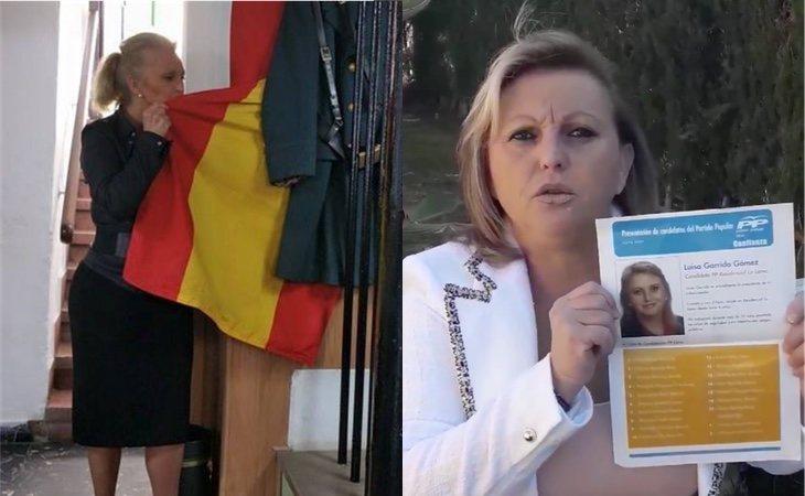 Luisa Garrido asegura que lleva en la sangre a la Guardia Civil