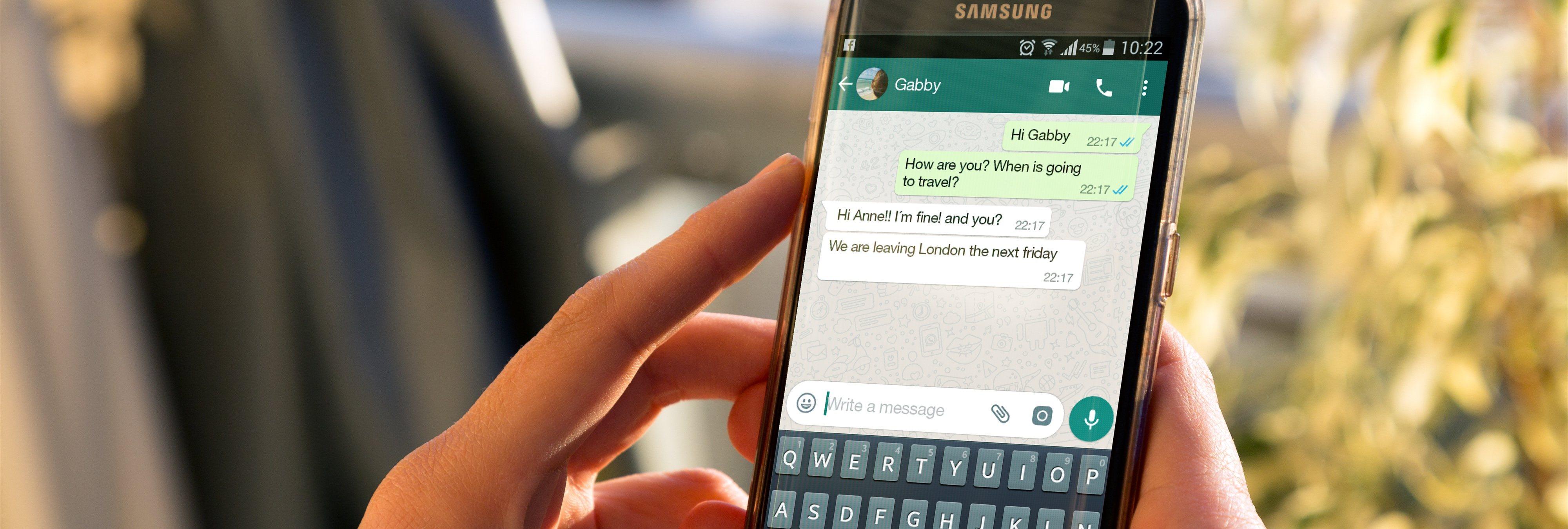 Esta app hace una fotografía a la persona que abre tus WhatsApp sin tu permiso