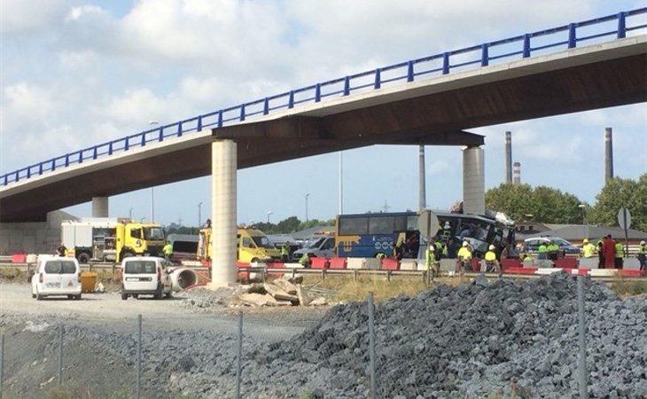 Imágenes del accidente (Europa Press)