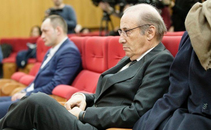 Francis Franco en el juicio donde se le acusaba de embestir un coche de la Guardia Civil