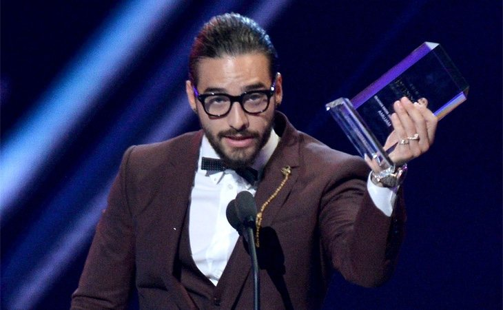 Maluma en los Billboard Latin Music Awards
