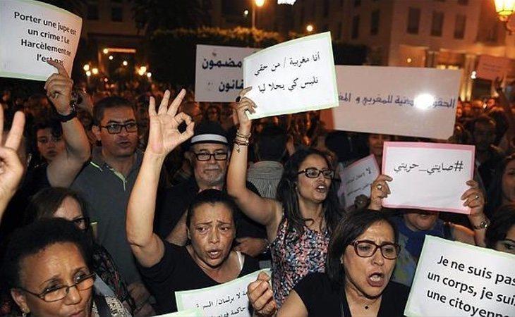 Los movimientos feministas están ganando fuerza en Marruecos