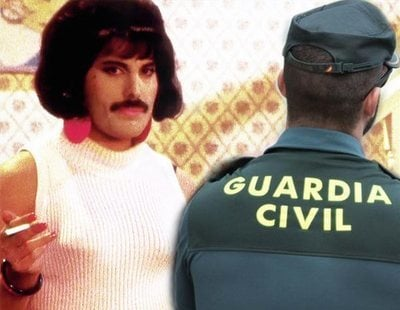 "La Guardia Civil la lía al hablar de ""opción sexual"" para recordar a Freddie Mercury"