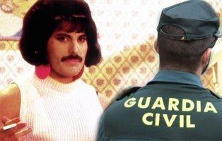 """La Guardia Civil la lía al hablar de """"opción sexual"""" para recordar a Freddie Mercury"""