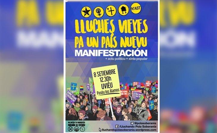 Convocatoria independentista asturiana de septiembre de 2017