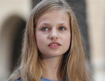 Convocan movilizaciones para boicotear el primer acto oficial de la Princesa Leonor