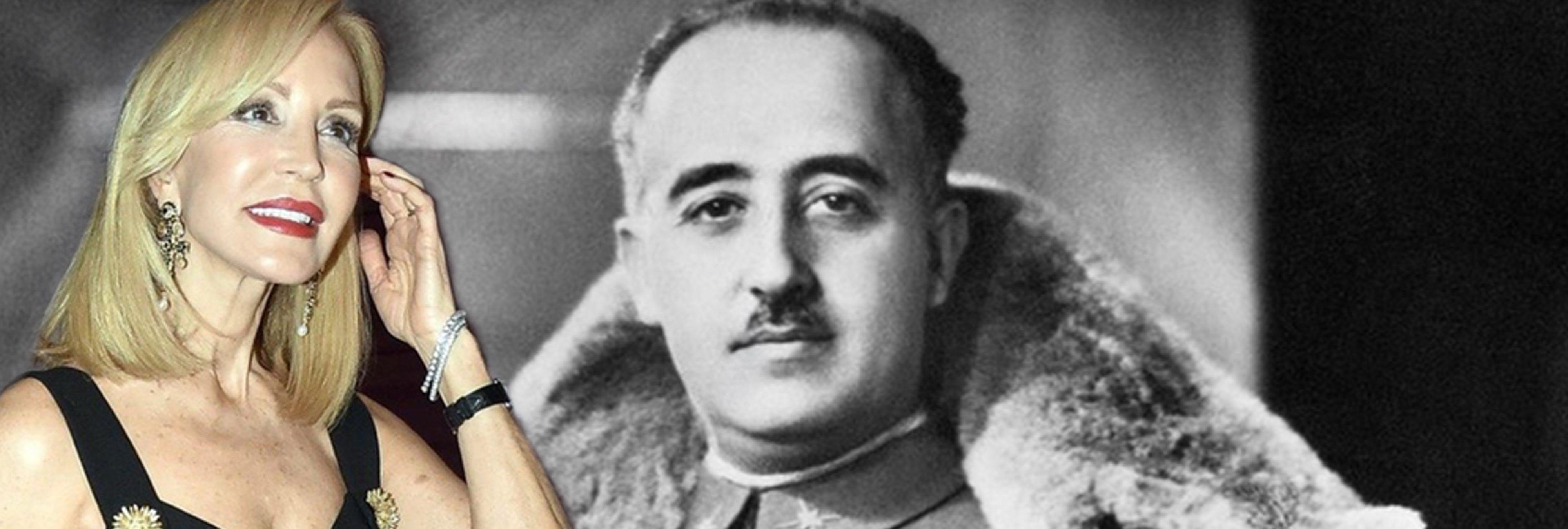 """Carmen Lomana sobre la exhumación de Franco: """"tienen envidia, no asumen que perdieron la guerra"""""""