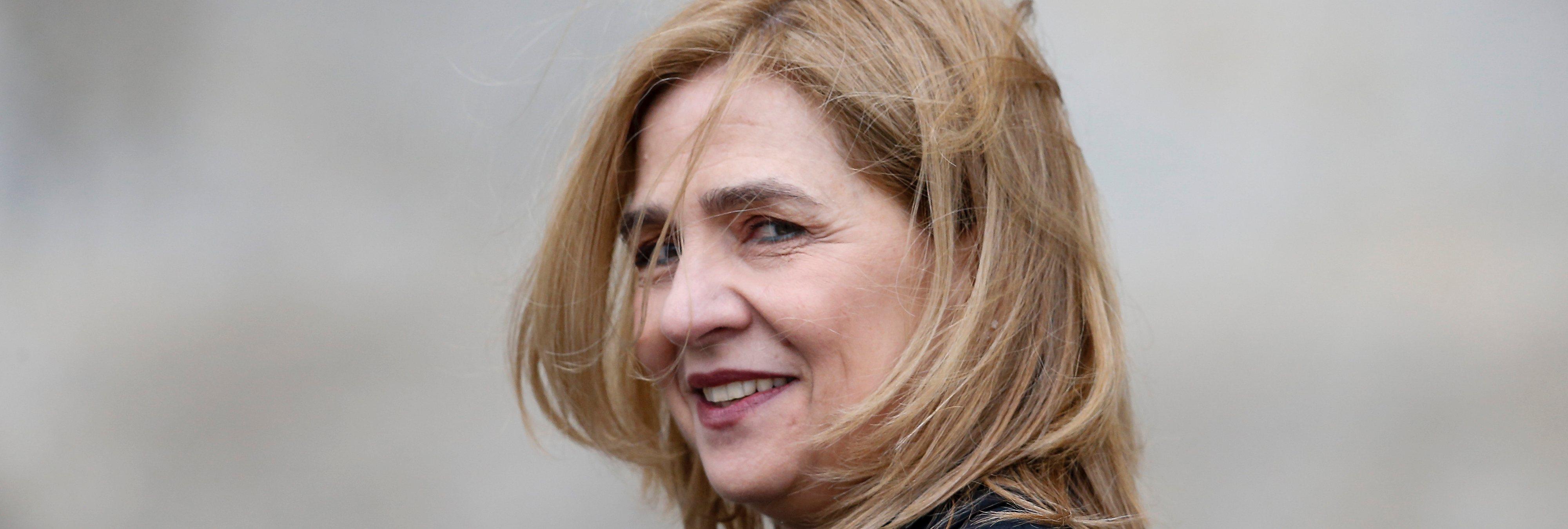 La infanta Cristina recibe los 322.000 euros de fianza del caso Nóos