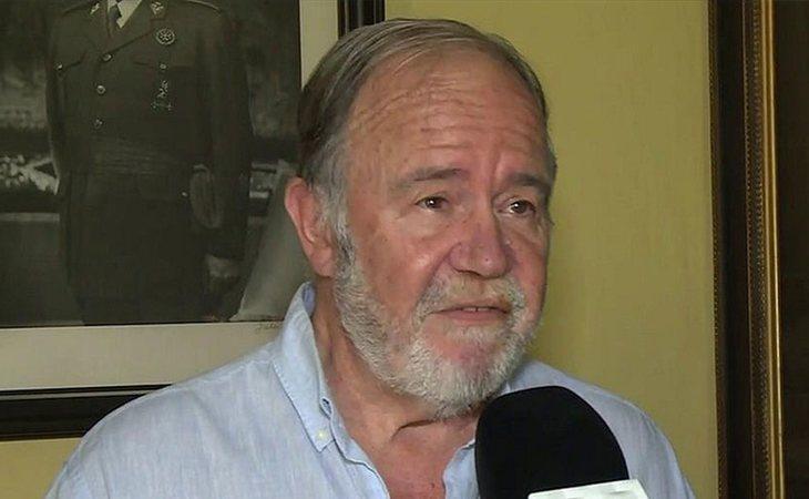 Juan Chicharro, presidente de la Fundación Nacional Francisco Franco