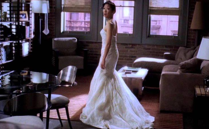 Cristina Yang, plantada en el altar en 'Anatomía de Grey'