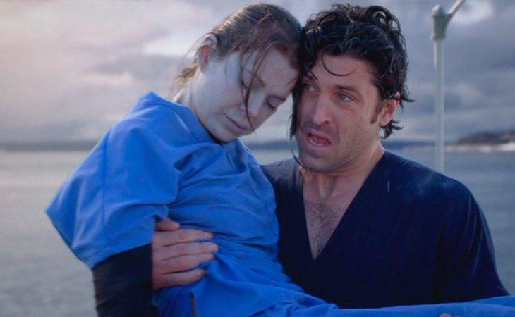 Meredith Grey casi muere ahogada en 'Anatomía de Grey'