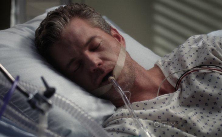 Mark Sloan no consigue sobrevivir a las heridas del accidente de avión en 'Anatomía de Grey'