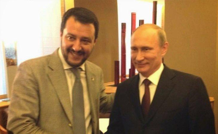 Putin y Salvini han sido fotografiados en varias reuniones