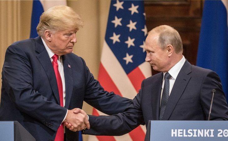 Putin y Trup también han mantenido encuentros privados con frecuencia