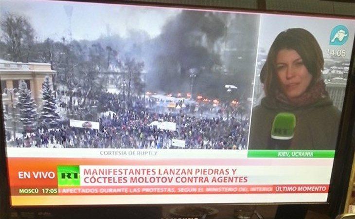 Intereconomía rellena su parrilla con emisiones de la televisión oficialista rusa en español   Foto: Isaac Jiménez