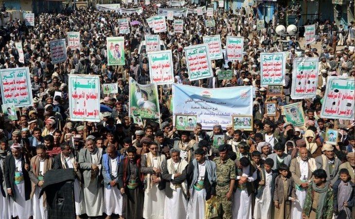Arabia Saudí ha sido acusada de bombardear a los grupos chiíes hutíes en Yemen