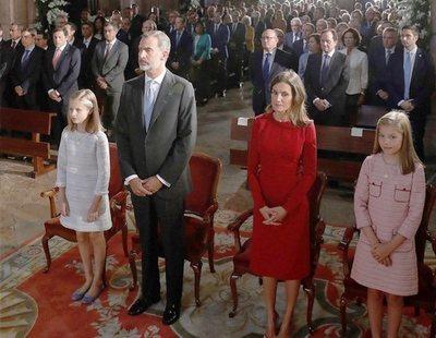 El inesperado gesto de los Reyes y sus hijas en Covadonga que levanta polémica