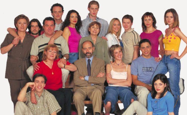 Protagonistas de la primera generación de 'Compañeros'