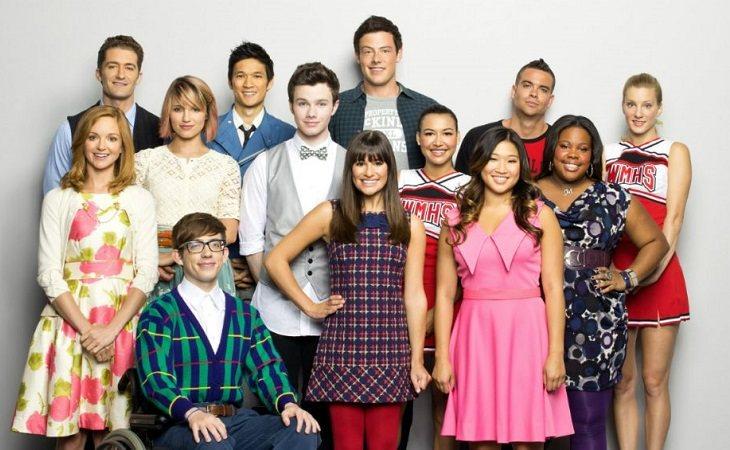 Protagonistas de 'Glee'