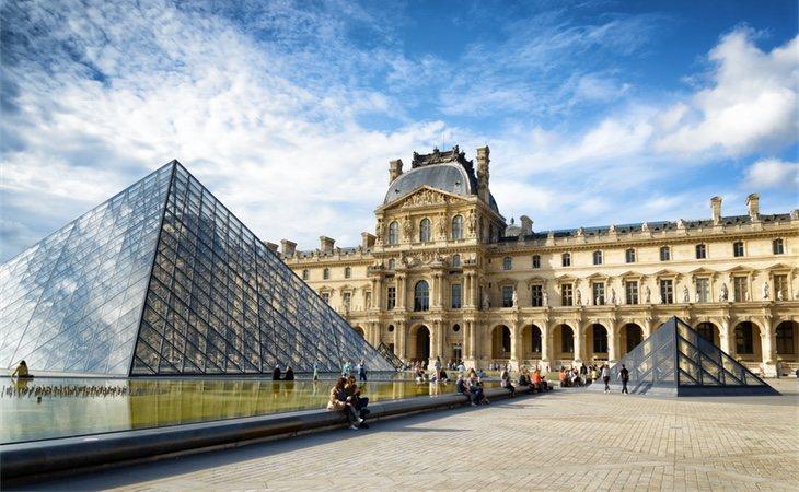 El cuadro se encuentra en el Museo del Louvre en París (Francia)