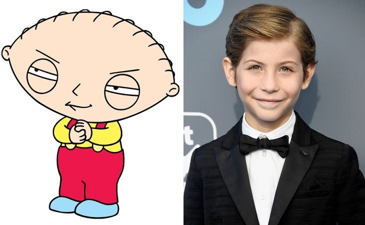 Stewie Griffin y Jacob Tremblay