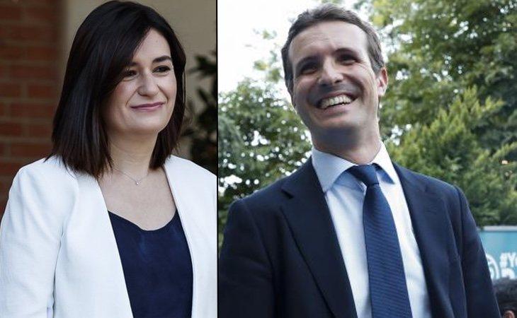 Carmen Montón y Pablo Casado