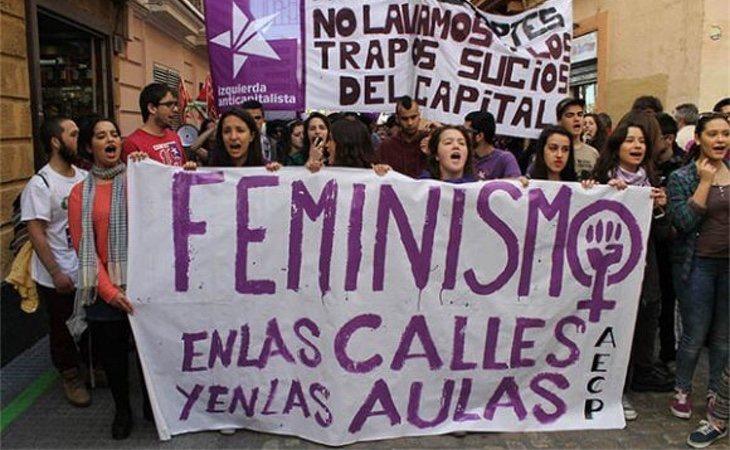 Los grupos estudiantiles piden que en las aulas la educación sea feminista