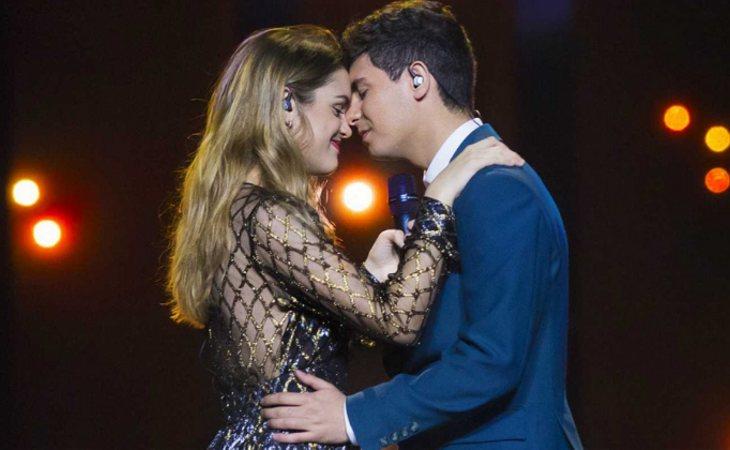 Alfred y Amaia calaron pero no consiguieron buen resultado en Eurovisión