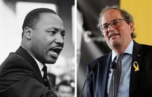 El Instituto Luther King reclama que Quim Torra deje de usar su figura