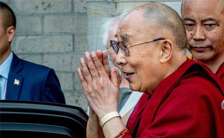 El Dalai Lama en Amsterdam