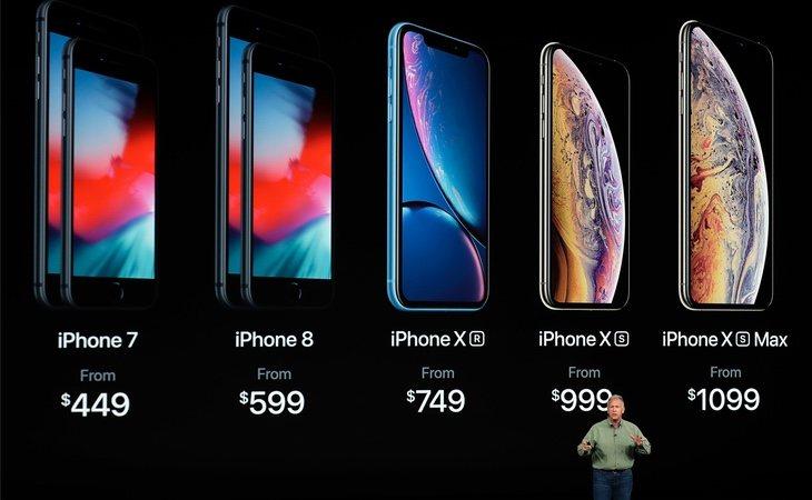 Los nuevos modelos de iPhone