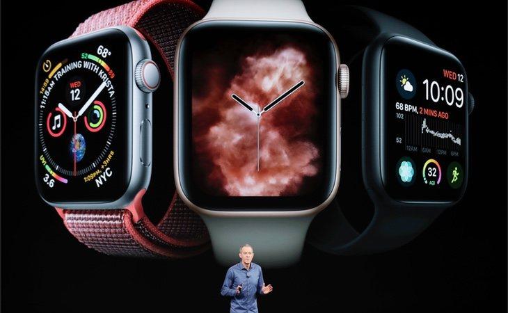 También se presentaron nuevos modelos de Apple Watch