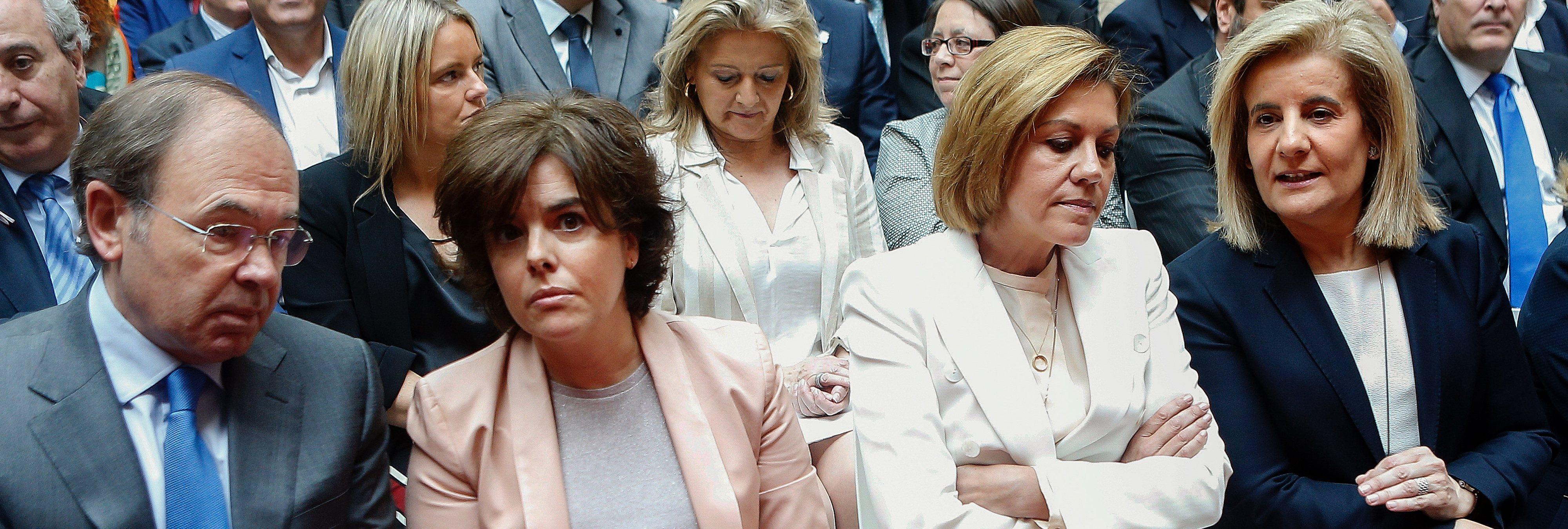 """El comisario Villarejo: """"Cospedal me llamó por su pelea a muerte con la pequeñita"""""""
