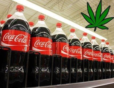 Coca-Cola lanzará infusiones de marihuana en los próximos meses
